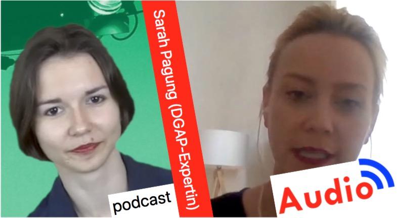 Sarah Pagung – kritisches über RTdeutsch und Sputniknews [Audio-Podcast]