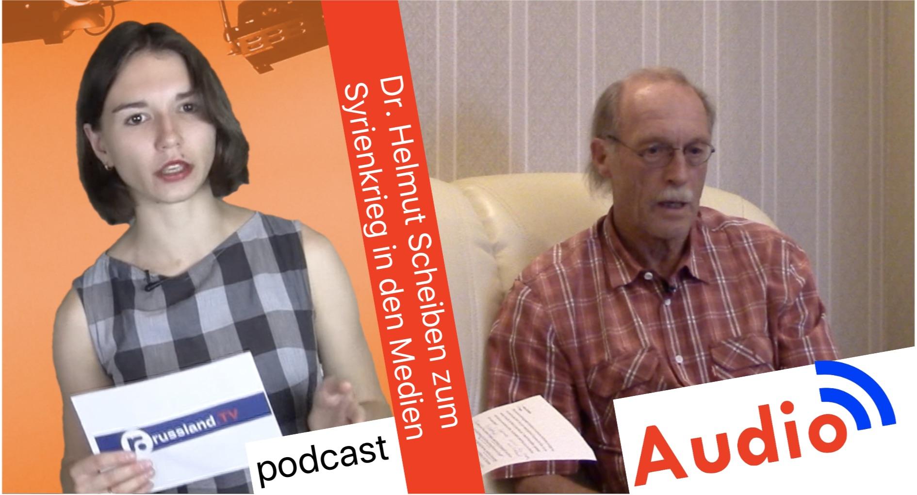 Helmut Scheben zum Syrienkrieg in den Medien [Audio-Podcast]