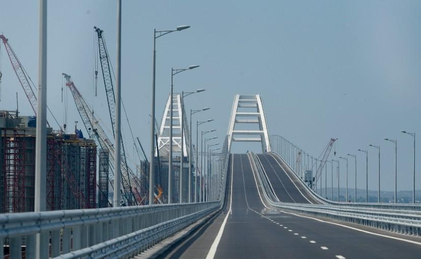 Seit der Eröffnung sind mehr als 3,3 Millionen Autos über die Krimbrücke gefahren