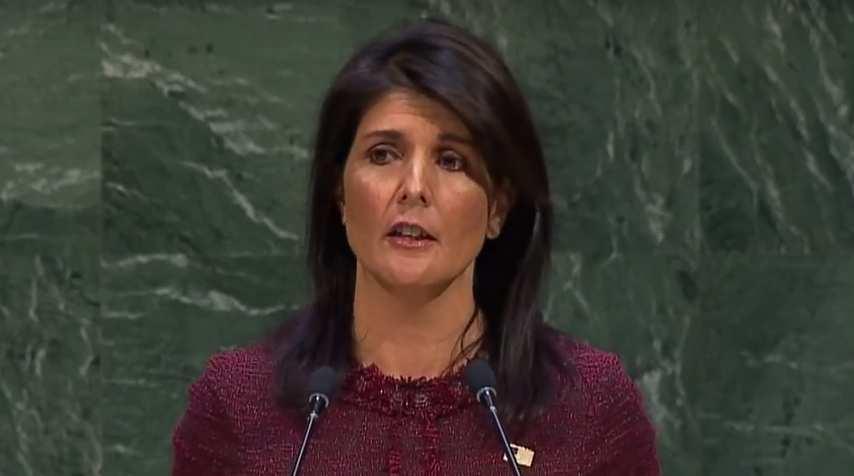 Reaktionen auf den Rücktritt der UN-Botschafterin Nikki Haley