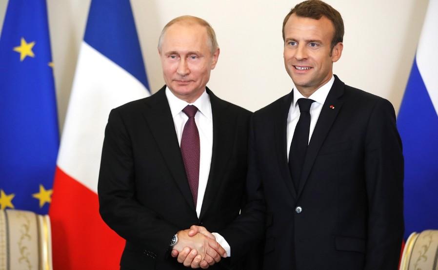 Putin und Macron besprechen Situation in Syrien und der Ukraine