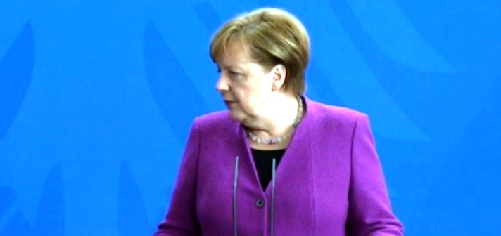 Russische Ärzte diagnostizierten Angela Merkel