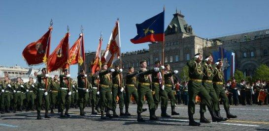 """""""Nicht wiedergutzumachender Preis für die Freiheit Europas"""". Heute feierte Russland die Parade zum 75. Jahrestag des Sieges über Hitler-Deutschland im Zweiten Weltkrieg"""