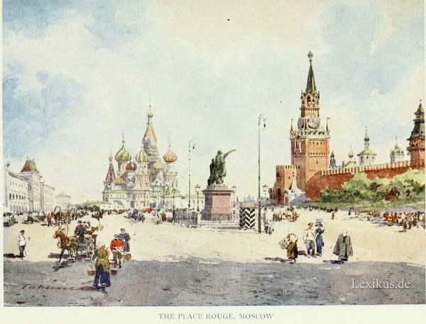 Russisches Leben – 16. Moskau und viel Merkwürdiges