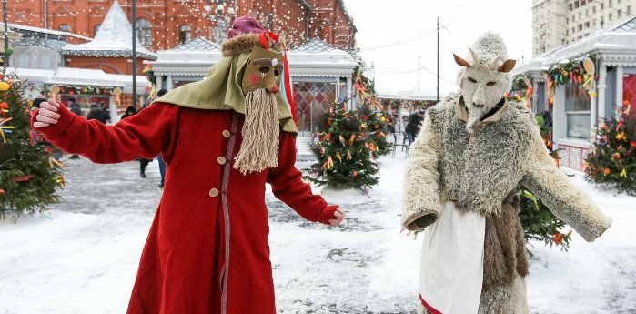 Masleniza-Fest: Karneval auf Russisch