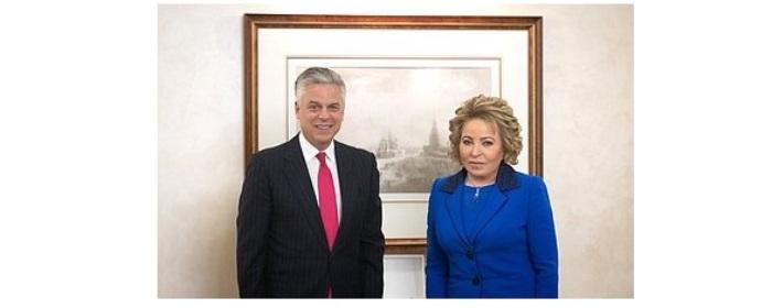 Matwijenko: Russland zu Kontakten mit US-Parlamentariern bereit