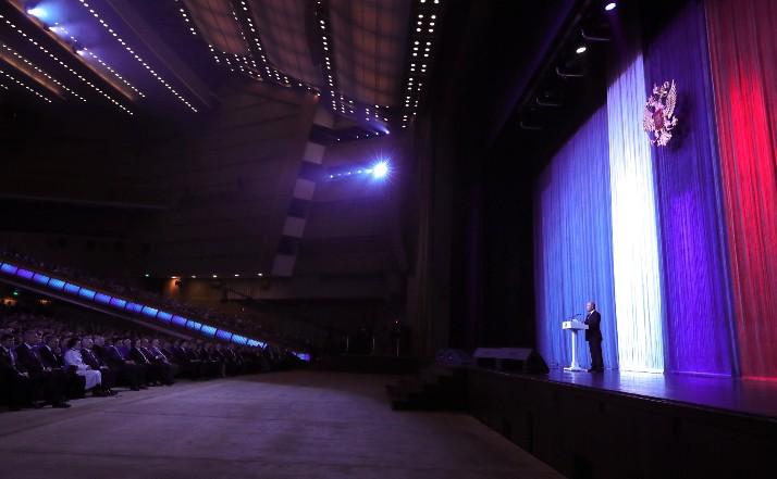 Putin: Um auf der Welt führend zu sein, muss man auch im Weltraum führend sein