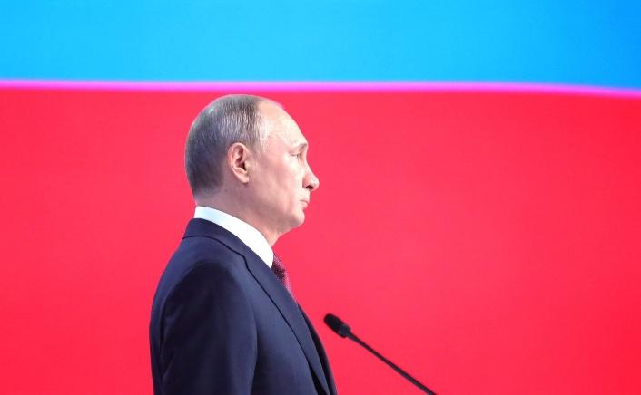 Putin legt Staatsduma Gesetzentwurf zur Aussetzung des INF vor