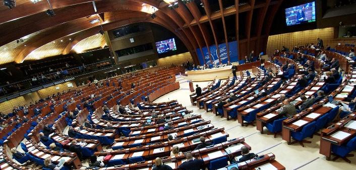 Resolution gegen die Rückkehr Russlands in Pace