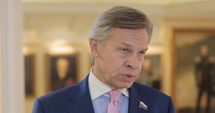 """Senator Puschkow kritisierte Selenski für seinen """"Brunnenlauf"""""""