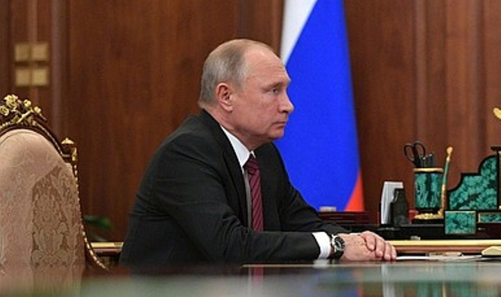 Putin diskutiert Situation in Georgien und Iran mit Mitgliedern des Sicherheitsrates