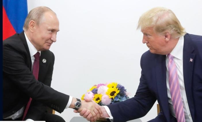 Putin und Trump geben gemeinsame Erklärung zum Jahrestag des Elbe-Treffens ab
