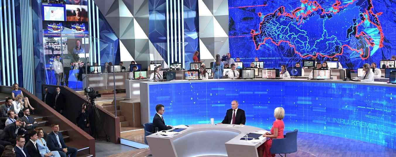 """Direkter Draht"" zu Wladimir Putin"