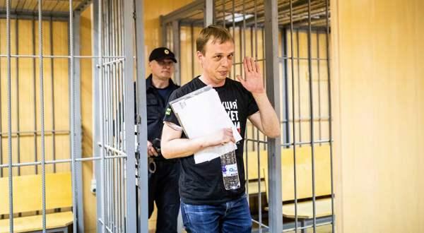Iwan Golunow mit Anna-Politkowskaja-Preis geehrt