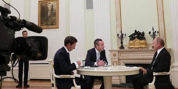 Das komplette Putin-Interview mit der Financial Times in deutscher Übersetzung