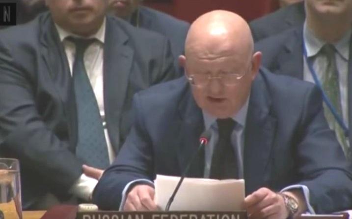 Nebensja fordert unparteiische Bewertung des ukrainischen Sprachengesetzes vom UN-Sicherheitsrat