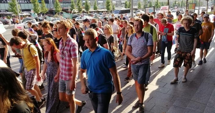 Moskauer Oppositionsdemos: Pressekrieg als Nachgefecht