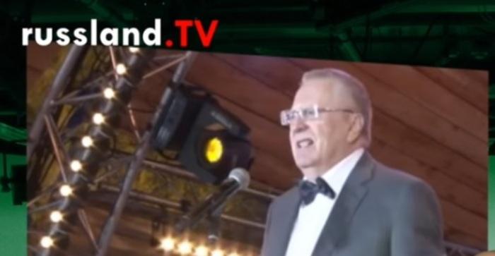 """Schirinowski sieht Versuche einer """"mini-orangenen Revolution"""" in Moskau"""