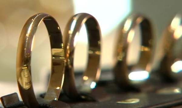 Weniger eingetragene Ehen in Russland