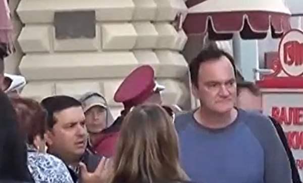 Quentin Tarantino in Moskau: vom Kreml begeistert