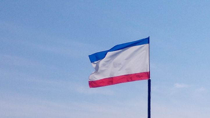"""Ukraine beschuldigt Russland der """"Zwangsrussifizierung"""" von Krim-Bürgern"""