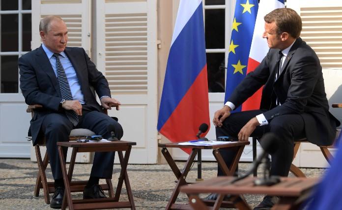 Putin und Macron haben telefoniert