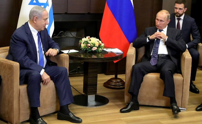 Israelischer Premier Benjamin Netanjahu bei Putin in Sotschi