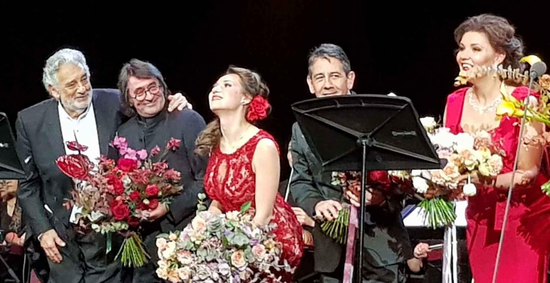 Plácido Domingo in Moskau: ein einmaliges Konzert
