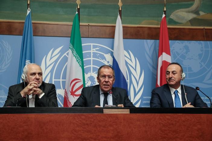 Erklärung der Außenminister Russlands, des Iran und der Türkei zu Syrien
