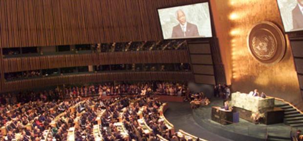 Russisches Außenministerium: USA blockieren die Arbeit vieler Delegationen bei den UN