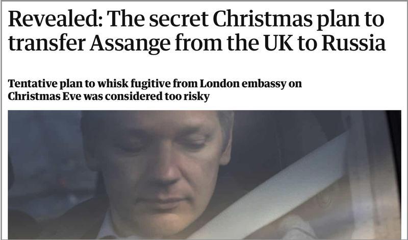 Julian Assange: Das Russland-Komplott war Fake-News