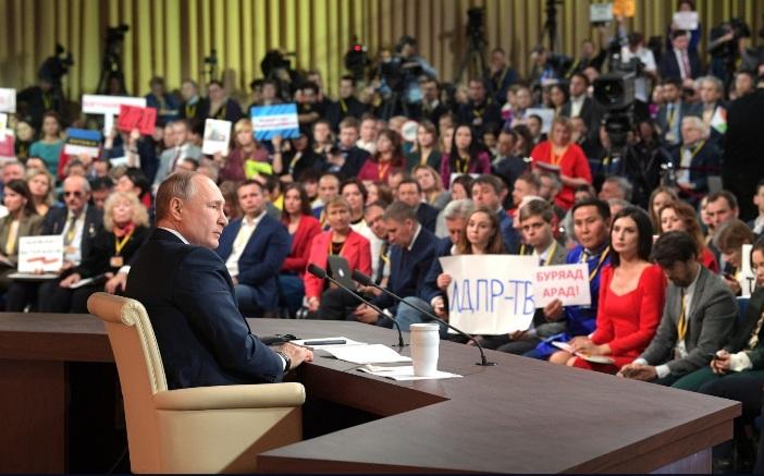 Große Pressekonferenz Präsident Putins – das Wichtigste