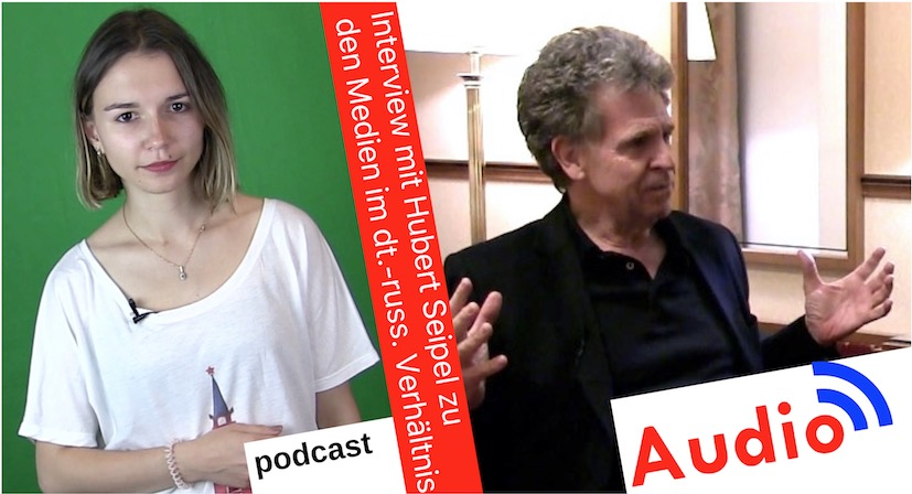 Julia Dudniks Interview mit Hubert Seipel [Audio-Podcast]