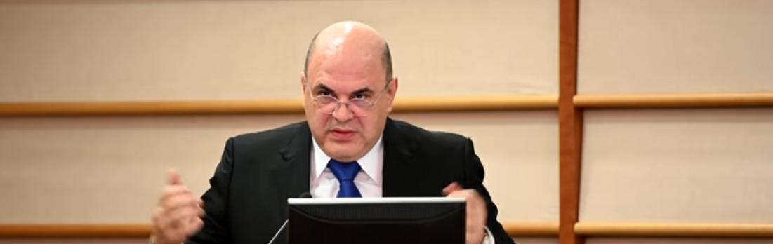 Russischer Premierminister Michail Mischustin am Coronavirus erkrankt