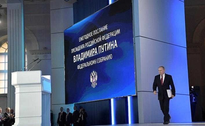 Putins Botschaft an die Föderale Versammlung