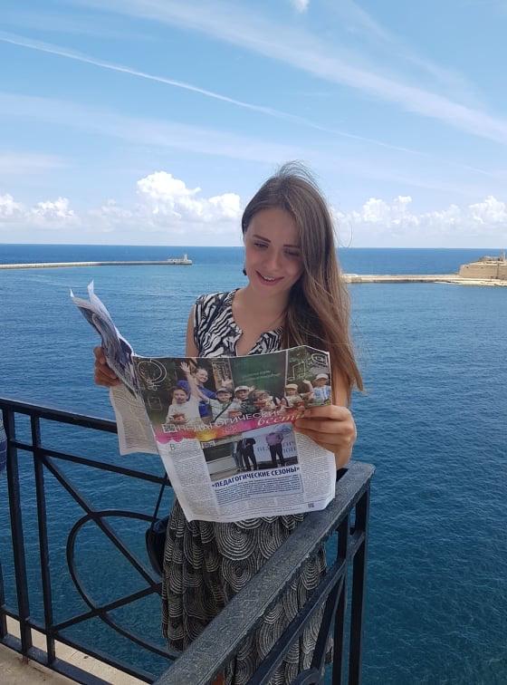 Интервью с Анной Смирновой, журналистом из Санкт-Петербурга