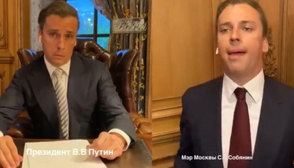 Skandal über einen Sketch: Russische Medien löschen eine Parodie über Putin