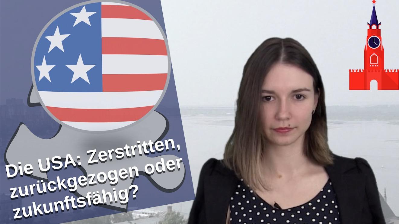 """Sonntag: Russland.direct Livetalk """"Die USA – zerstritten, zurückgezogen oder zukunftsfähig?"""""""