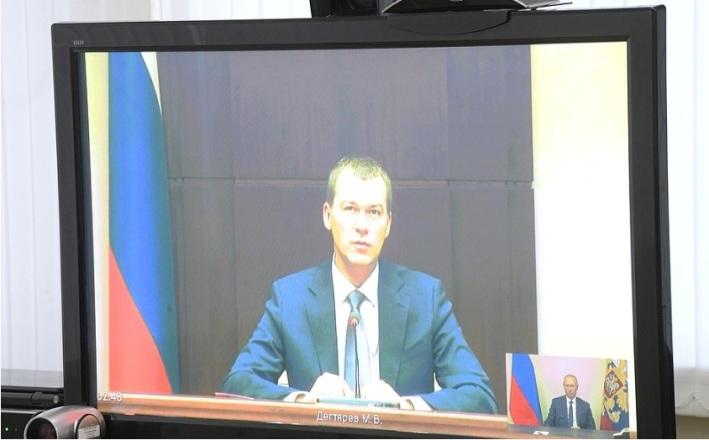 Putin ernennt neuen amtierenden Gouverneur für Chabarowsk