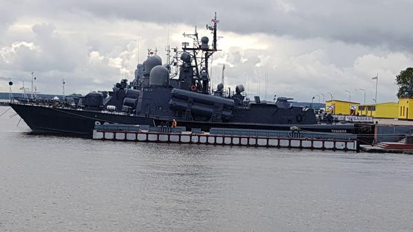 """Marine-Parade in St. Petersburg: """"Fortschrittliche digitale Technologien"""""""
