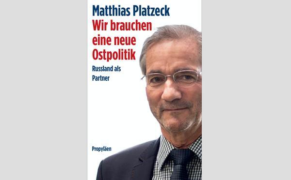 """Matthias Platzeck """"Wir brauchen eine neue Ostpolitik"""""""