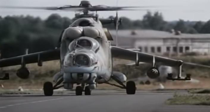 Russischer Mi-24-Hubschrauber in Armenien abgeschossen