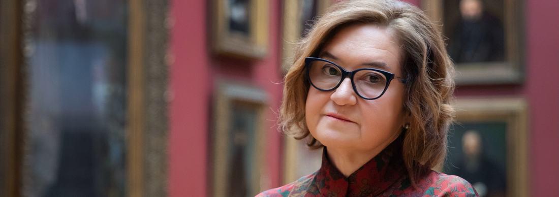 """""""Museum ist cool"""" – Direktorin der Tretjakow-Galerie Zelfira Tregulova"""