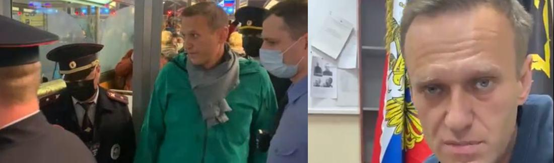 """""""Vorhersehbar, aber inakzeptabel"""": internationale Reaktionen auf die Festnahme von Nawalny"""